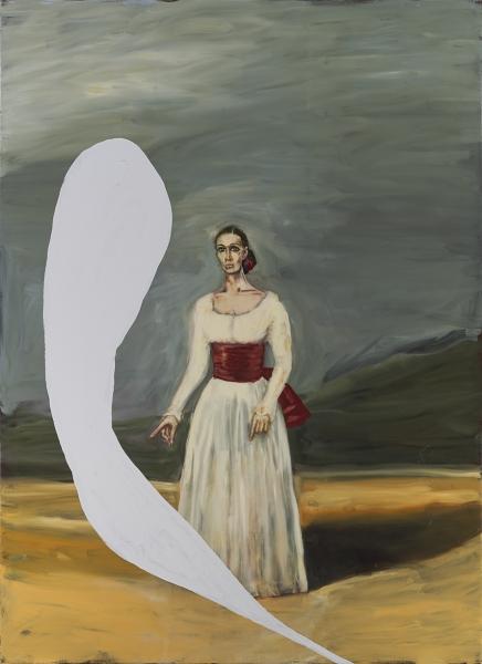 Portrait of Tatiana Lisovskaia As The Duquesa De Alba I