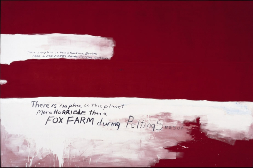 Fox Farm Painting VIII