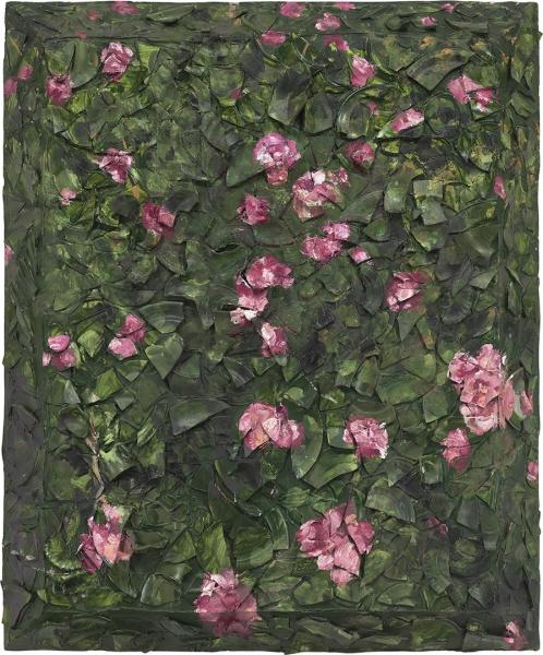 Rose Painting (Near Van Gogh's Grave) XVIII