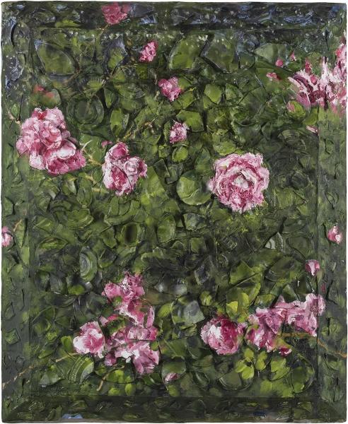 Rose Painting (Near Van Gogh's Grave) III