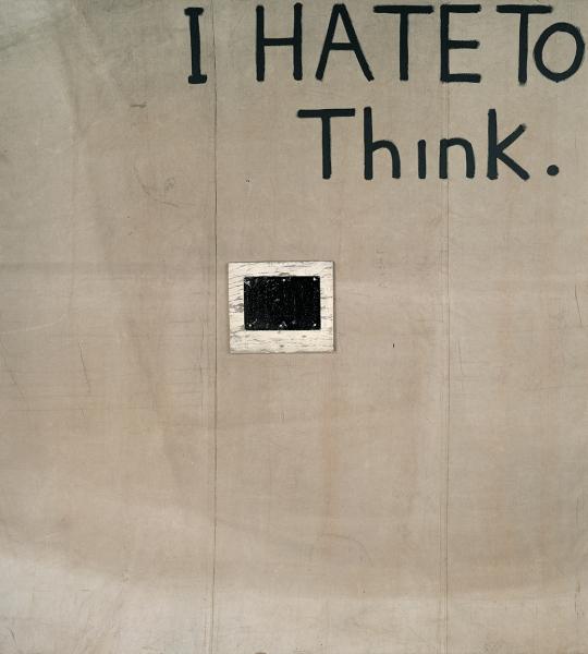 I Hate to Think (I)