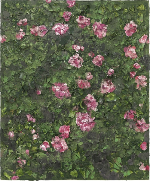 Rose Painting (Near Van Gogh's Grave) XVII