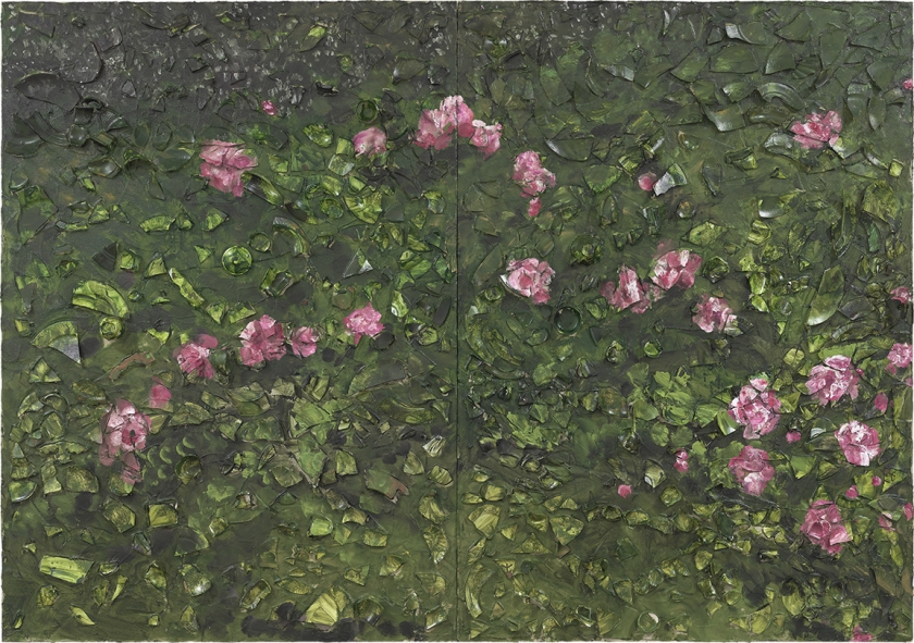 Rose Painting (Near Van Gogh's Grave) XXI