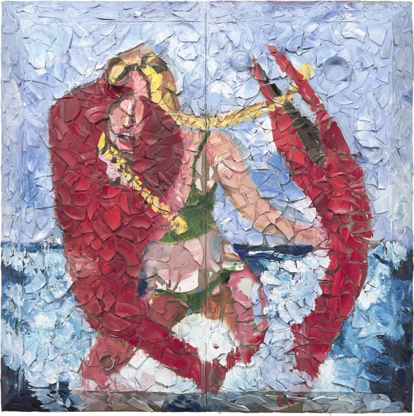 Untitled (Lobster Girl)
