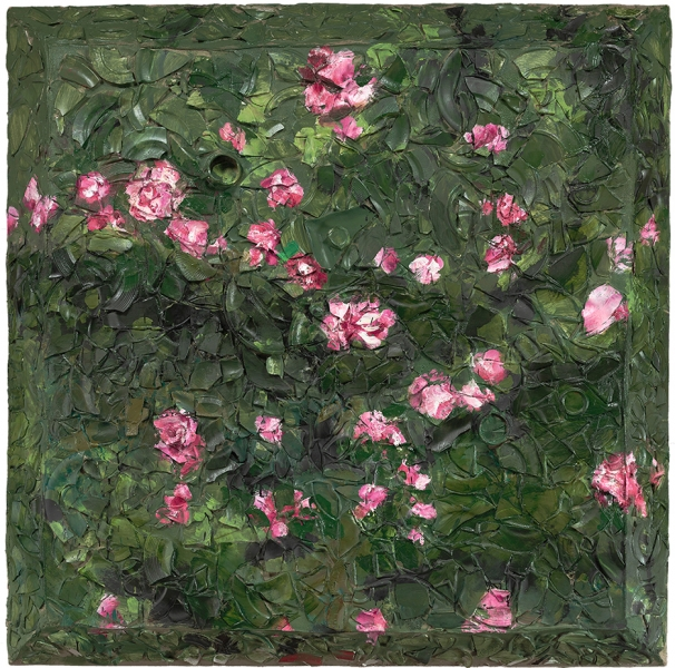 Rose Painting (Near Van Gogh's Grave) XV