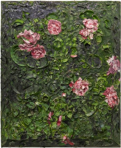 Rose Painting (Near Van Gogh's Grave) II