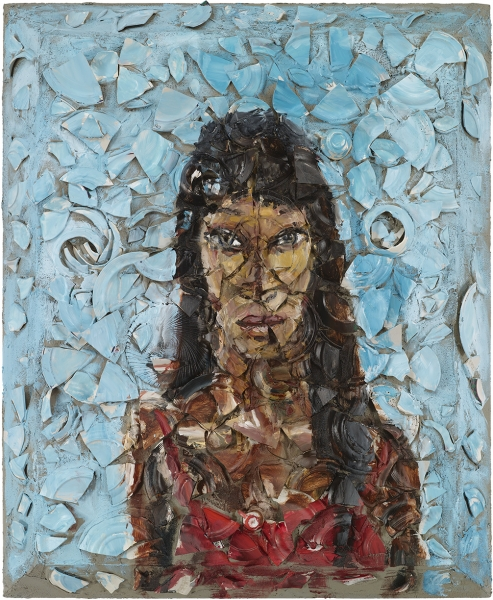 Portrait of Naomi Campbell