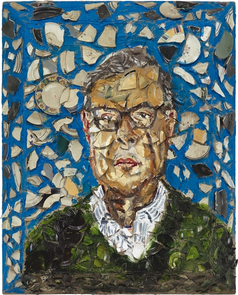 Untitled (Portrait of Bob Colacello)
