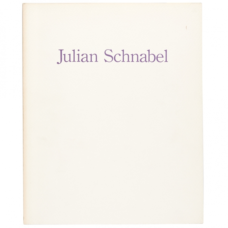 Julian Schnabel: Printed on Velvet