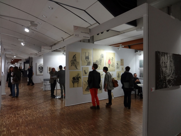 Salon du dessin art fairs david nolan gallery for Salon du the