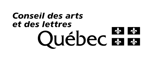 ANDREW MORROW WISHES TO THANK THE CONSEIL DES ARTS ET DES LETTRES DU QUÉBEC FOR ITS FINANCIAL SUPPORT