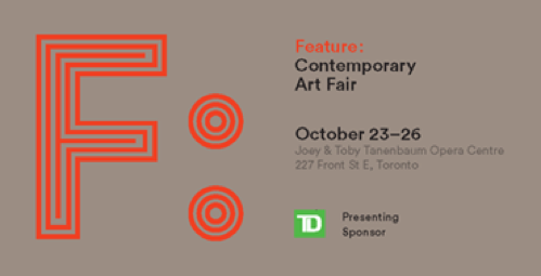 PATRICK MIKHAIL GALLERY AT FEATURE: CONTEMPORARY ART FAIR, OCTOBER 23 TO 26, 2014