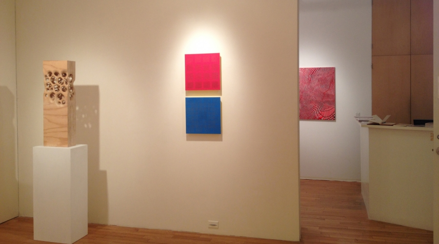 MATERIAL GRID exhibition: Sept. 2014