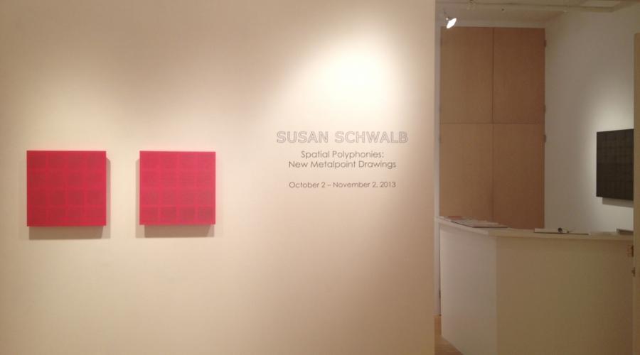 SUSAN SCHWALB: Spatial Polyphonies exhibition - 2013