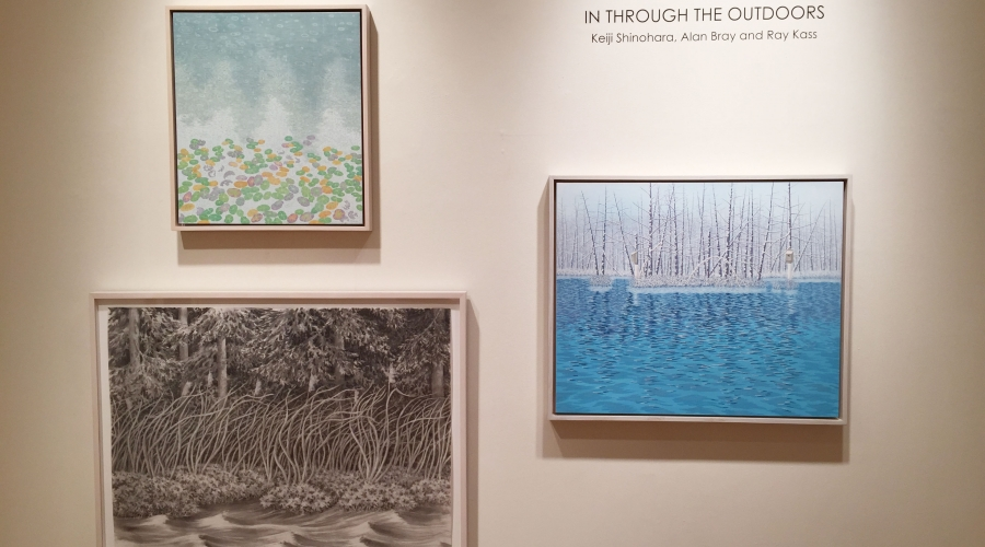 IN THROUGH THE OUTDOORS: Keiji Shinohara, Alan Bray and Ray Kass - March 19-April 25, 2015