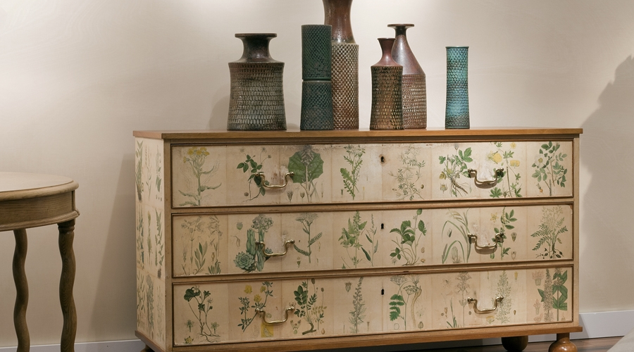 """""""Flora"""" Chest of Drawers by Josef Frank"""