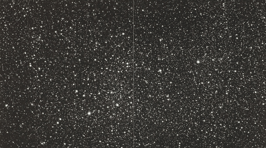 VIJA CELMINS, Starfield, 2010