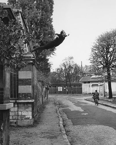 YVES KLEIN, The Painter of Space Casts Himself into the Void! 1960