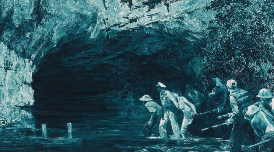 MARK TANSEY, Study for Myth of Depth II, 1987
