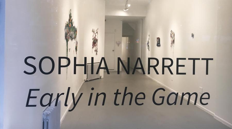 """Sophia Narrett, """"Early in the Game"""""""