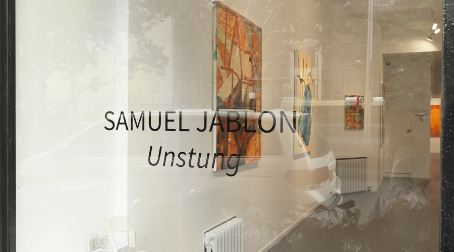 """Samuel Jablon, """"Unstung"""""""