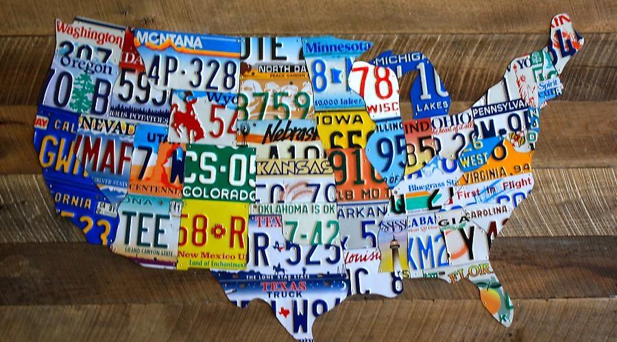 48 Plates on Vintage Barnwood