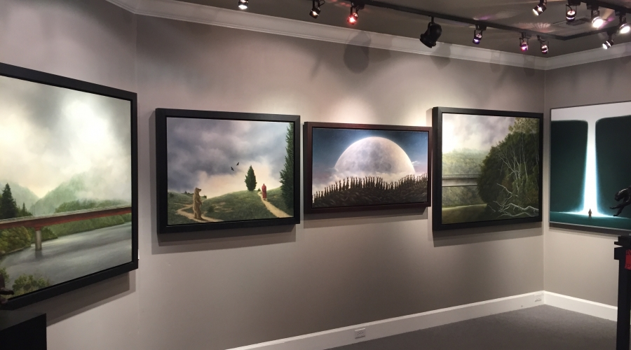Robert Bissell Original Work  Hanson Gallery Fine Art 415 332-1815