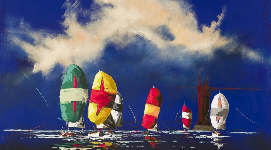 Special Pricing on Thomas Easley Sailing Pieces