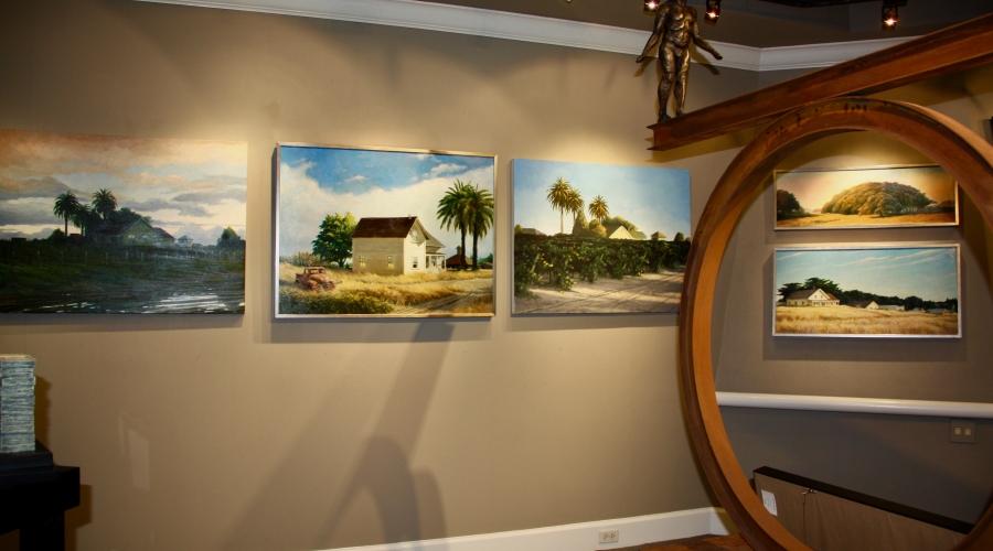 California Dreamin' exhibition  Randolph Johnson