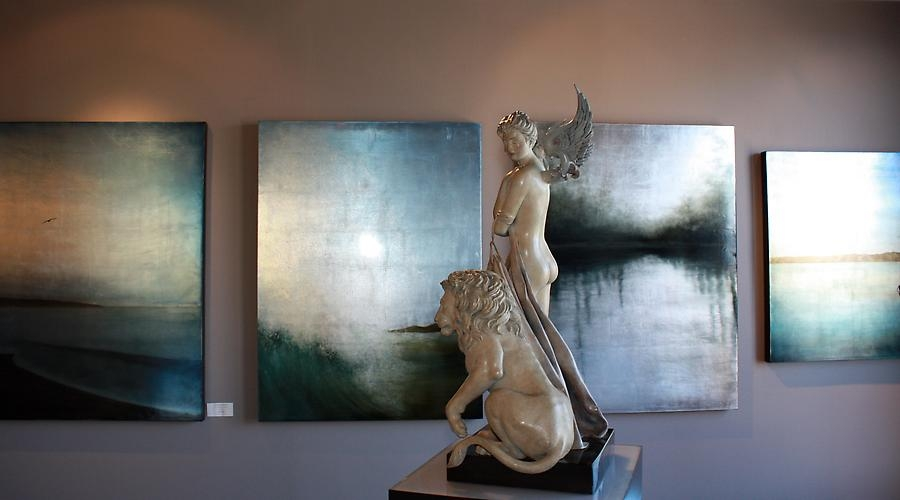 Michael Parkes Sculpture, Carolyn Reynolds, Eon Burchman