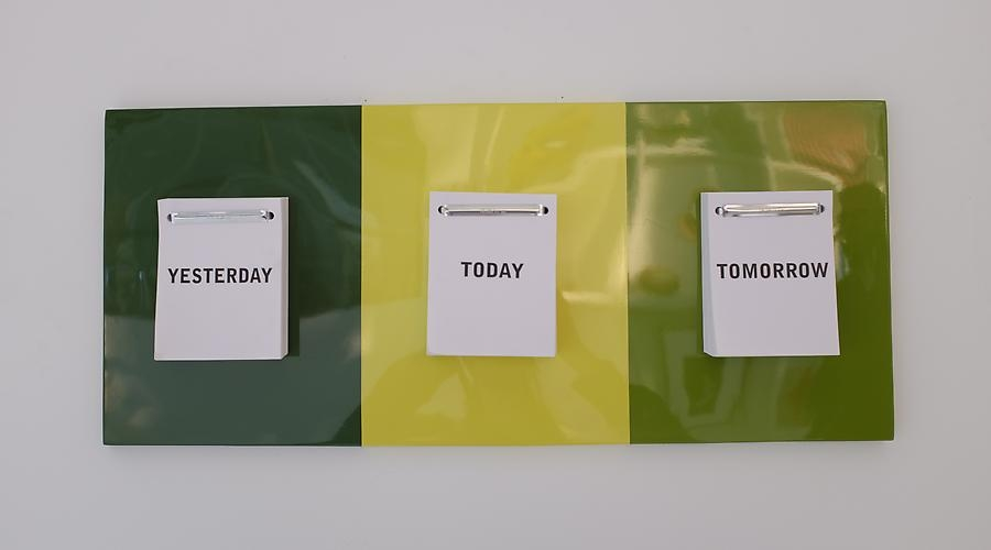 Time is a Decision, 2013. Jose Davila