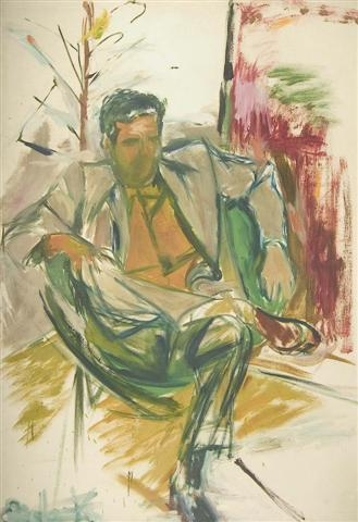 Portrait of Robert Mallary,1957