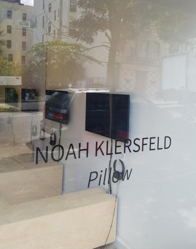 """Noah Klersfeld """"Pillow"""""""