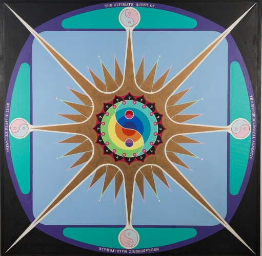 "Paul Laffoley: ""Cool Medium: Art, Television & Psychedelia, 1960-1980"""