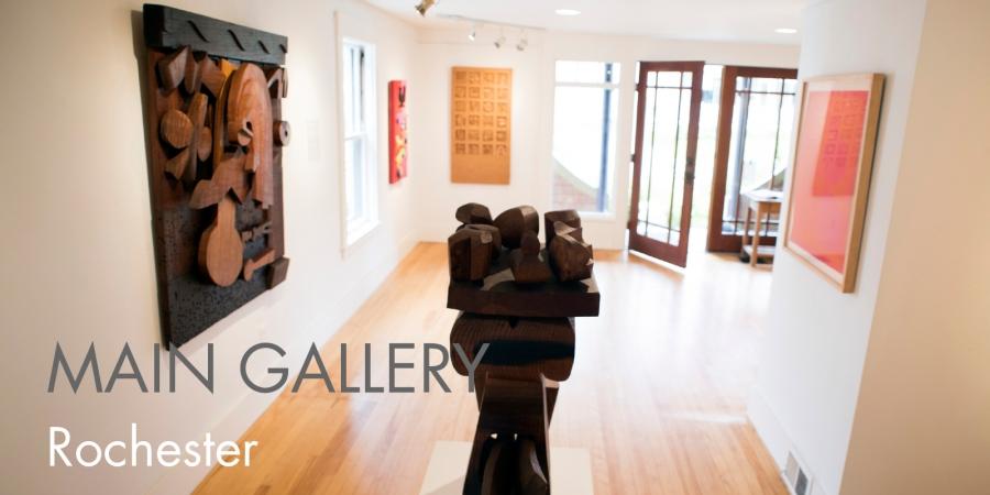 """HUGH TOWNLEY, An exhibit of """"Sculpture, Relief & Prints"""""""