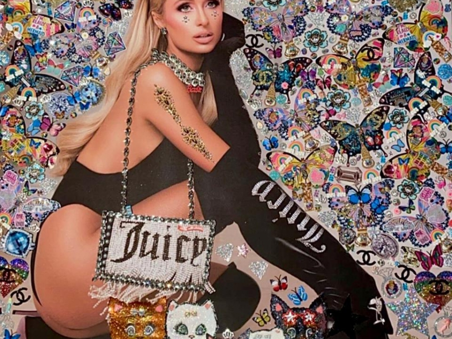 A Chat With Paris Hilton About Her New Pop Art Paintings