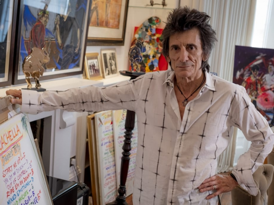 Rolling Stones' Ronnie Wood: Painting is my 'God-given talent'