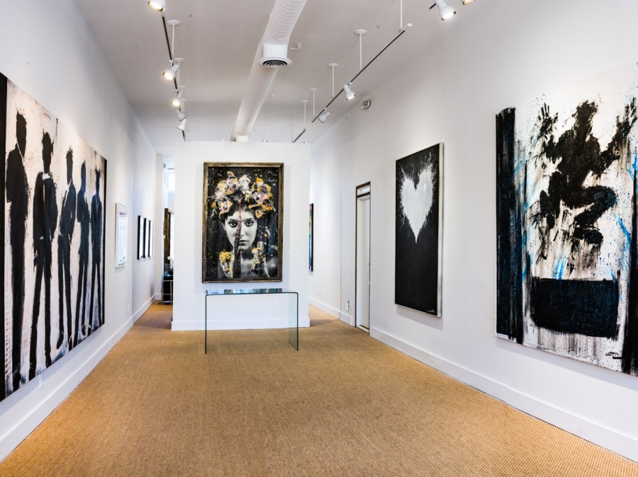 Art Gallery, Chase Contemporary, is Representing a Collection of Diverse Works of Contemporary Artists in its Brand New Location in East Hampton