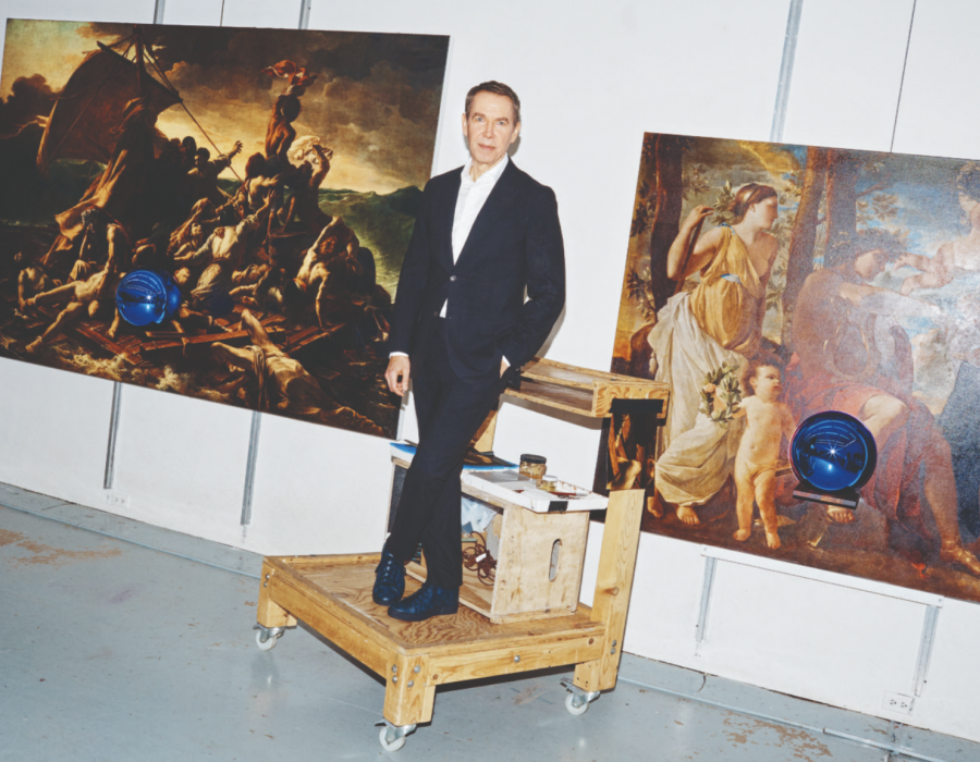 Jeff Koons Gives it Up to The Masters