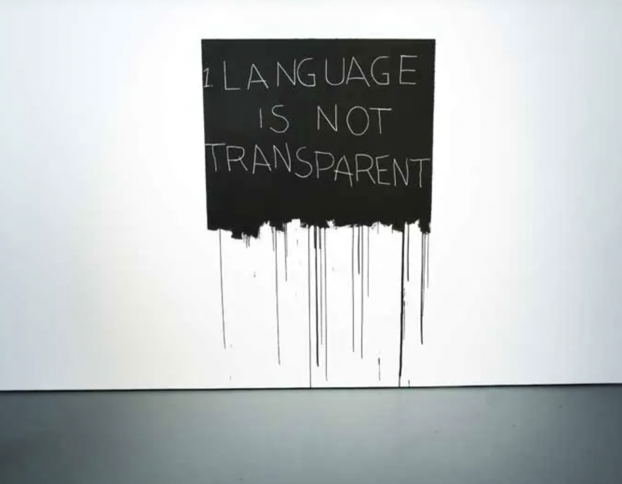 Review: Mel Bochner 'Strong Language' at the Jewish Museum
