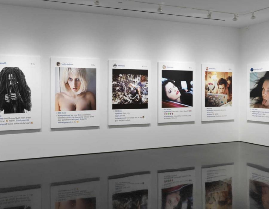 Richard Prince's Instagram Paintings Are Genius Trolling