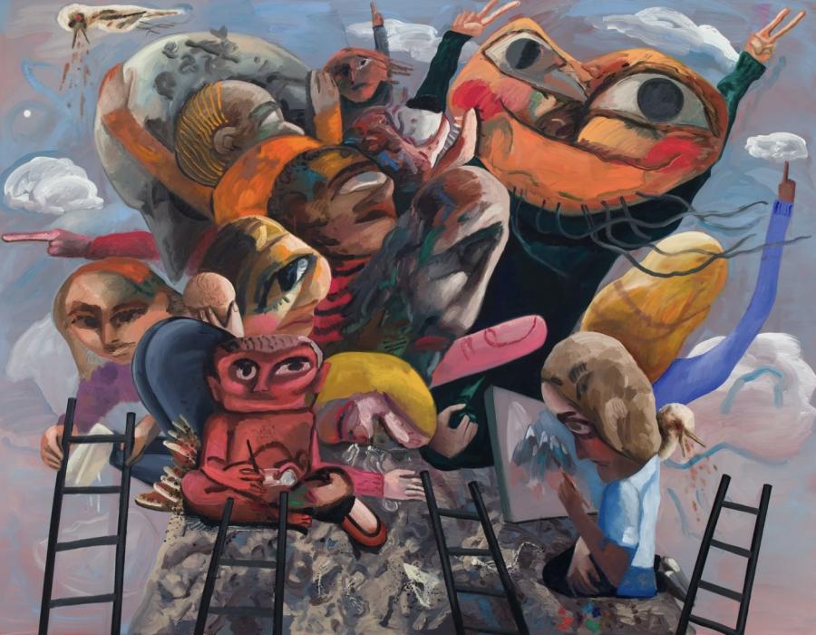 Dana Schutz's Paintings Wring Beauty From Worldwide Calamity