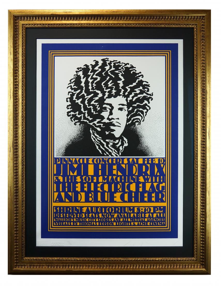 Pinnacle Jimi Hendrix,  1968
