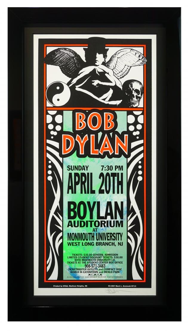 Bob Dylan at Monmouth University