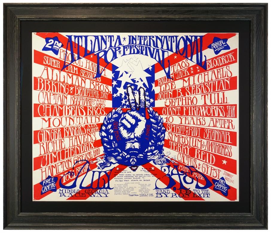 Atlanta Pop Festival - Allmans and Hendrix - 1970