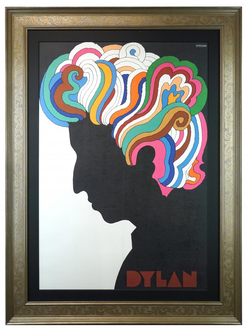 Bob Dylan by Milton Glaser - 1967