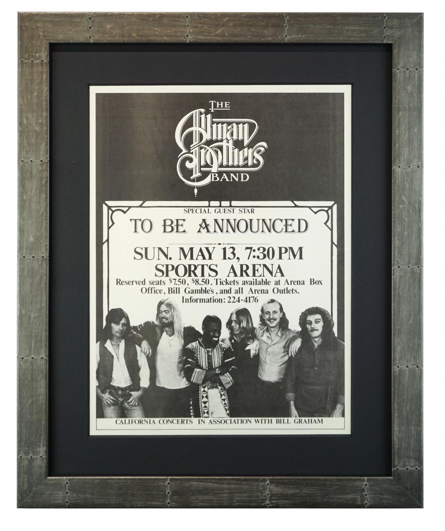Allman Brothers Band, San Diego, 1979