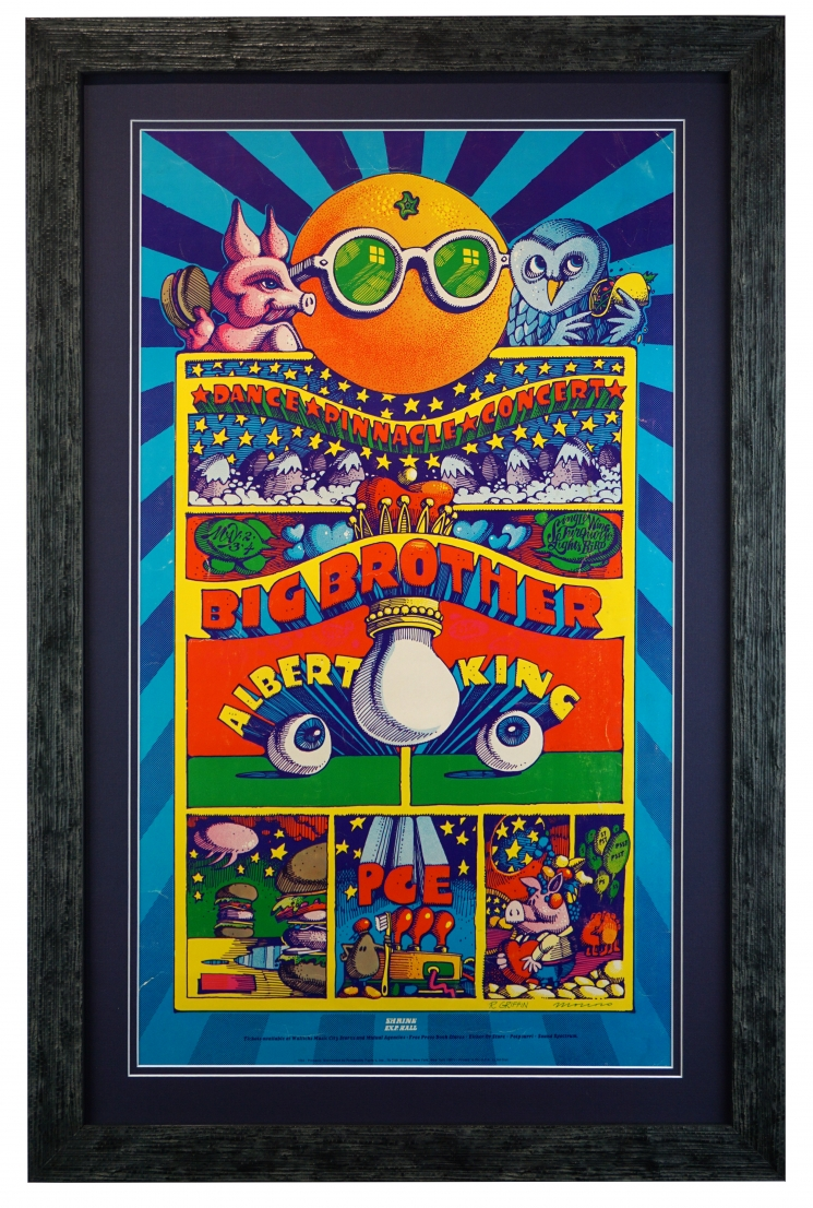 Pig & Owl, Big Brother at The Shrine, 1968