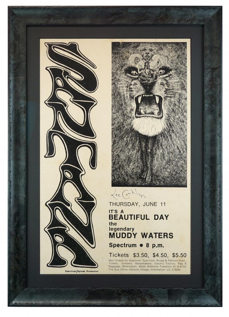 Santana at Philadelphia Spectrum, 1970