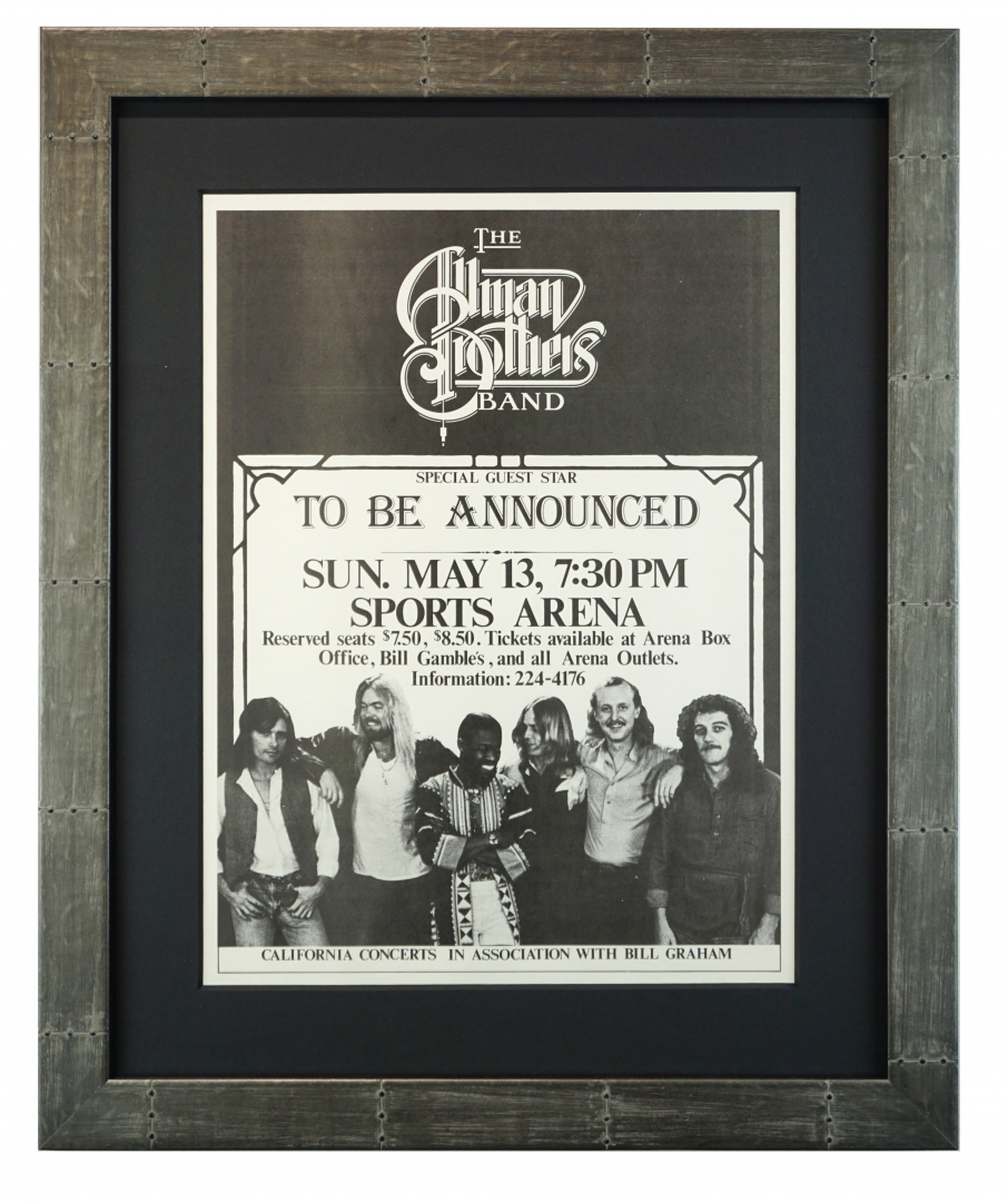 Allman Brothers Band, San Diego, 1979